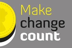 Make change count logo