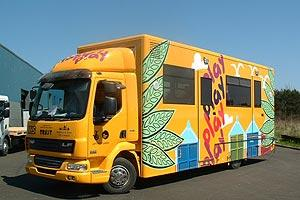 Playbus from the side