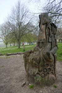Hove Park storytelling chair