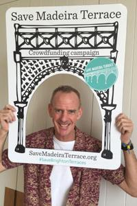 Norman Cook shows his support for the crowdfunding campaign