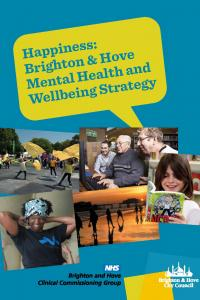 Happiness Mental Health and Wellbeing Strategy cover