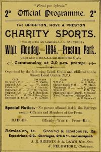 Preston Park Velodrome poster