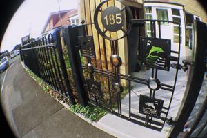 Whitehawk gates